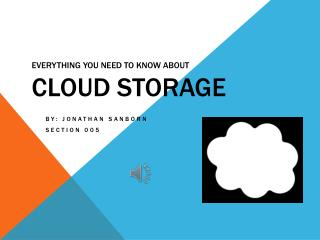 Everything you need to know about Cloud Storage