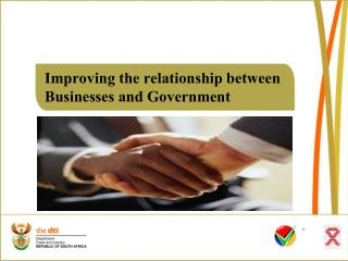 Improving  the relationship  between  Businesses  and  Government