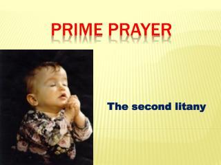 Prime prayer