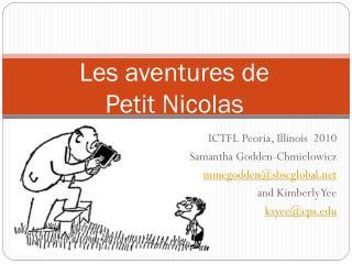 Les  aventures  de Petit Nicolas