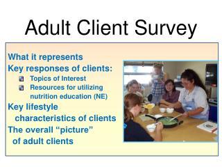 Adult Client Survey