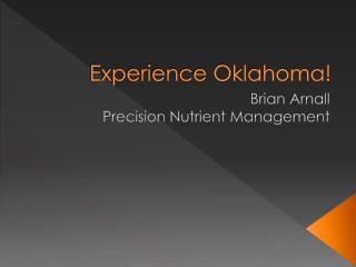 Experience Oklahoma!
