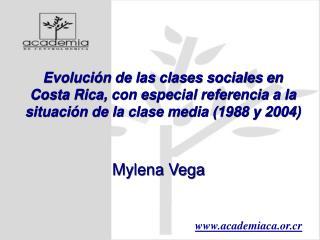Evoluci n de las clases sociales en Costa Rica, con especial referencia a la situaci n de la clase media 1988 y 2004
