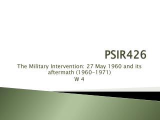 PSIR426
