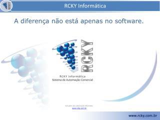 Soluções de automação eficientes. www.rcky.com.br