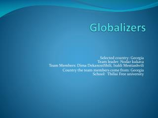 Globalizers