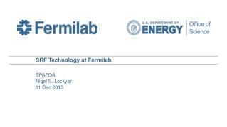 SRF Technology at Fermilab