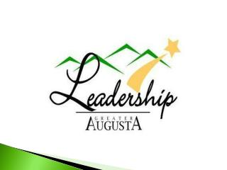 What is Leadership Great Augusta?