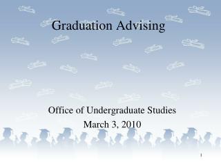 Graduation Advising