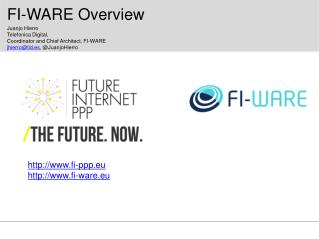 FI- WARE Overview