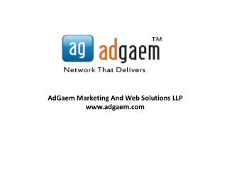 AdGaem Affiliate Network