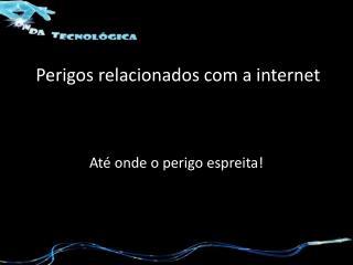 Perigos relacionados com a internet