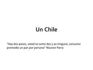Un Chile