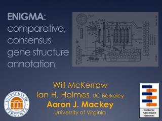 ENIGMA : comparative, consensus gene structure annotation