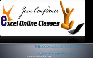 http://www.excelonlineclasses.co.nr/ excel.onlineclasses@gmail.com
