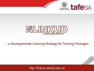 a Developmental Learning Strategy for Training Packages