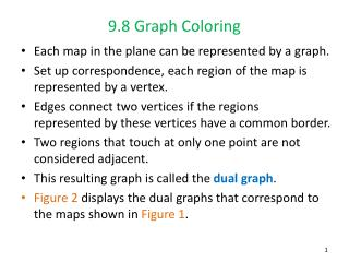 9.8 Graph Coloring