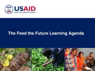 The Feed the Future Learning Agenda