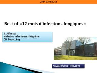 Best of �12 mois d�infections fongiques�