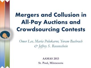 Mergers and Collusion in All-Pay Auctions  and Crowdsourcing  Contests