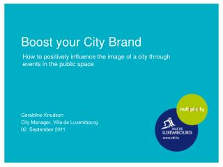 Boost your City Brand
