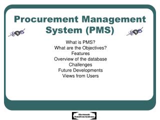 Procurement Management System PMS