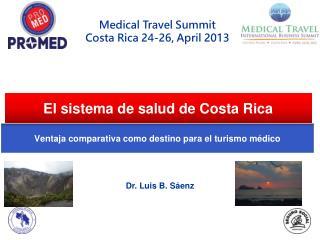 El sistema de salud de Costa Rica