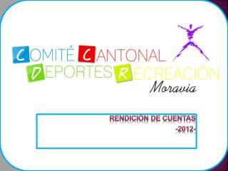 RENDICIÓN DE CUENTAS  -2012-