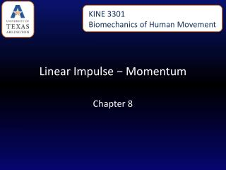 Linear Impulse − Momentum