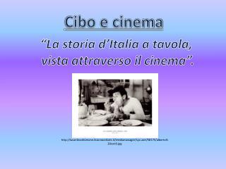 Cibo e cinema