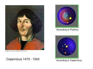 Copernicus 1473 - 1543