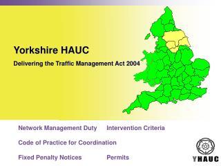 Yorkshire HAUC