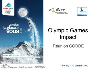 Olympic Games Impact