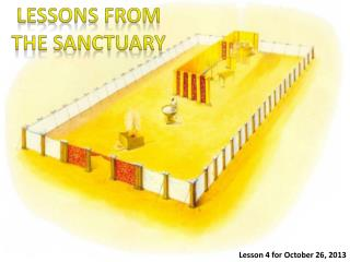 LESSONS FROM THE SANCTUARY