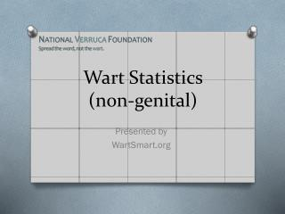 Wart Statistics  (non-genital)