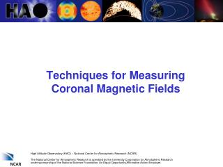 Techniques for Measuring Coronal Magnetic Fields