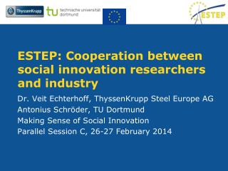 ESTEP: Cooperation between social innovation researchers and industry