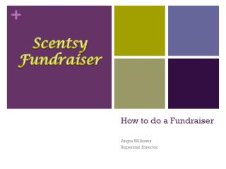 How to do a Fundraiser