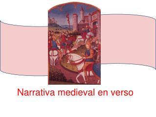 Narrativa medieval en verso