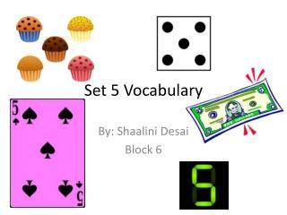 Set 5 Vocabulary