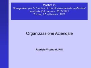 Master in