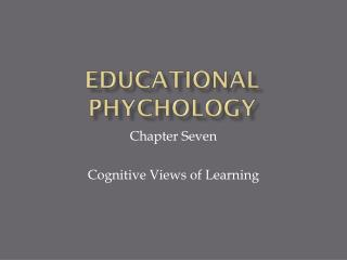 Educational PHYCHOLOGY