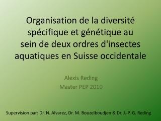 Alexis Reding Master PEP 2010