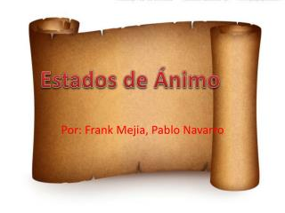 Por : Frank Mejia, Pablo Navarro