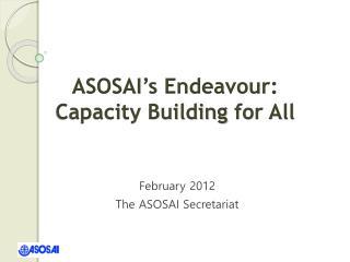 February 2012 The ASOSAI Secretariat