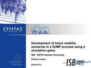 Development  of future mobility scenarios in a SUMP process using a simulation game