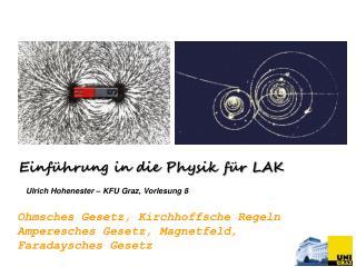 Ulrich Hohenester – KFU Graz ,  Vorlesung 8
