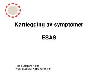 Kartlegging av symptomer ESAS