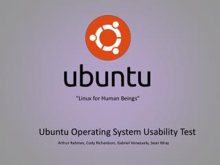 """Linux for Human  B eings"""