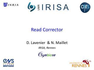 Read Corrector
